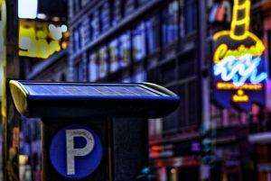 borne parking solaire